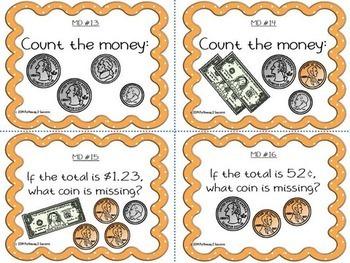 Elementary Math Task Cards BUNDLE