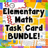 Elementary Math Task Cards BUNDLE