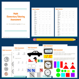 Elementary Math Tutoring Assessment Tool