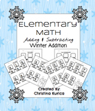 Elementary Math- Winter Worksheets