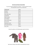 Elementary Math with Shopping