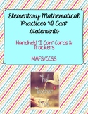"Elementary Mathematical Practices ""I Can"" Statements: Card"