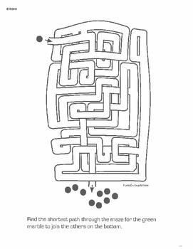 Elementary Mazes - Grades 3-5