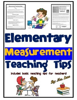 Elementary Measurement Teaching Tips