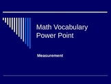 Elementary Measurement of Length and Width Power Point