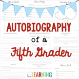 Autobiography of a Fifth Grader {A Memory Book Project}