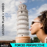 Elementary & Middle School Art Lesson Plans - Forced Perspective