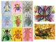 Elementary & Middle School Zentangle Watercolor Insect Project BUNDLE!