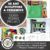 Elementary, Middle, or High School Art Project: Introduction to Glass Fusing