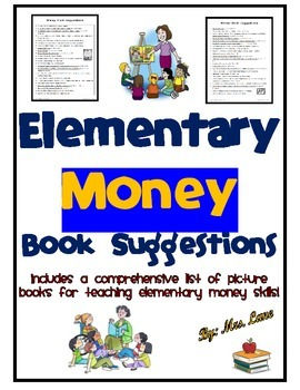 Elementary Money Book Suggestions