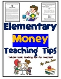 Elementary Money Teaching Tips