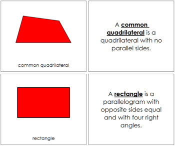 Elementary Montessori Geometry Bundle