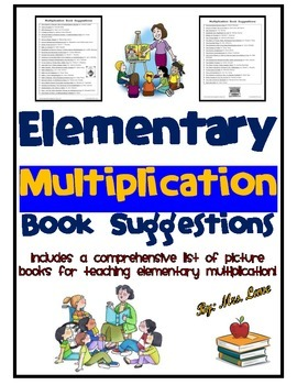 Elementary Multiplication Book Suggestions