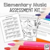 Elementary Music Assessment Kit