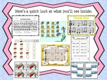 Elementary Music Bundle 1
