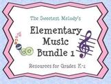 Elementary Music Bundle 1