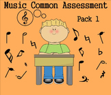 Elementary Music Common Assessment Pack 1