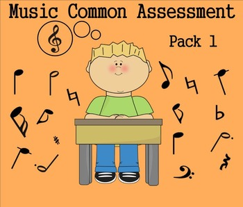 Elementary Music Common Assessment Pack 1