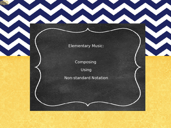 Elementary Music Composing Lesson