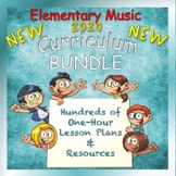 Elementary Music Curriculum for a Year Bundle