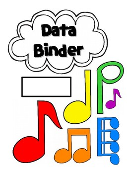 Elementary Music Data Tracker Sheets