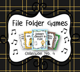 Elementary Music File Folder Games: Collection No. 4