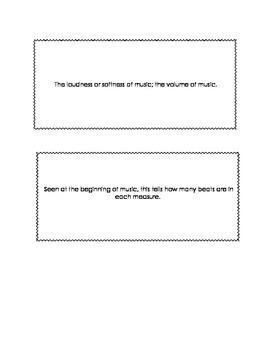 Elementary Music Flashcards