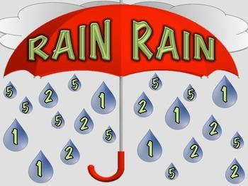 Elementary Music Folder Game - Rain Rain
