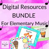 Elementary Music Google Drive Activities BUNDLE 1 Perfect
