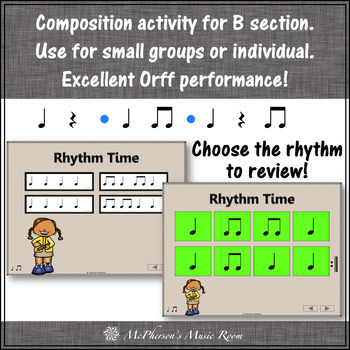 Elementary Music Lesson ~ Claves: Orff, Rhythm, Instruments & Composition