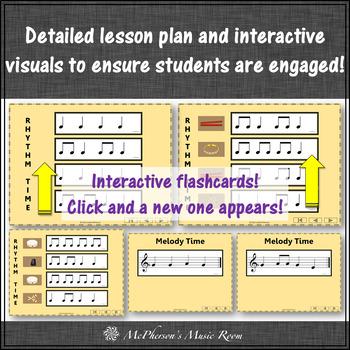 Elementary Music Lesson Orff Lesson ~ 2 4 6 8: Orff, Rhythm, Melody, Instruments