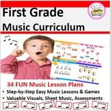 Elementary Music Lesson Plans {31 Bundled 1st Grade Lessons}