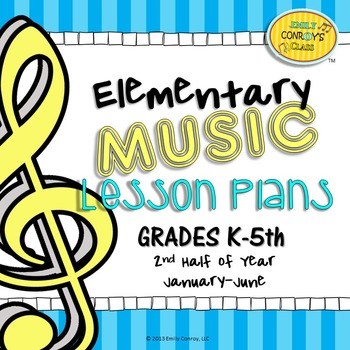 Elementary Music Lesson Plans-Second Half of Year