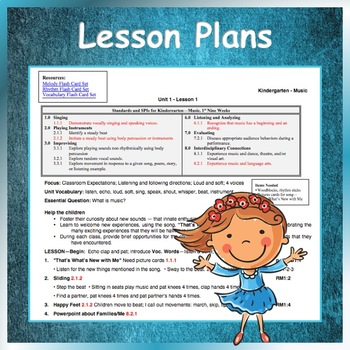 Elementary Music Lesson Plans, Unit 1
