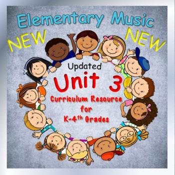 Elementary Music Lesson Plans, Unit 3