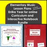 Elementary Music Lesson Plans and Interactive Music Notebook {Bundled}