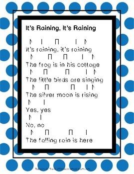 Elementary Music Lesson: Que Llueva