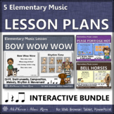 Elementary Music Lessons & Orff Arrangements for Eighth No