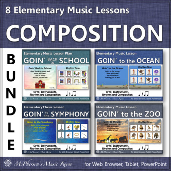 Elementary Music Lessons: Orff, Instruments, Rhythm and Composition