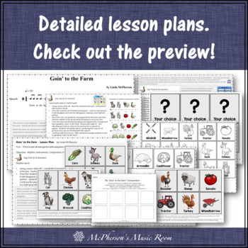 Elementary Music Lessons: Orff, Instruments, Rhythm and Composition {Bundle}
