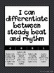 Elementary Music Marzano Scales and I can Statements