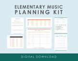 Elementary Music Planning Kit