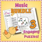 Elementary Music Puzzle Bundle