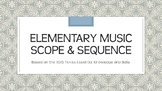 Elementary Music Scope & Sequence