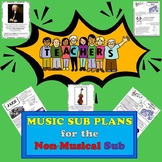 Elementary Music Sub Plans for a Non-Musical Substitute