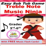 Elementary Music Sub Plans {or Music Center Game}