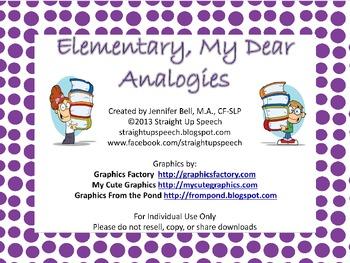 Elementary, My Dear Analogies
