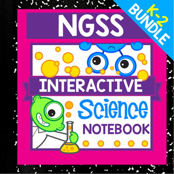 Elementary NGSS Activities & Interactive Notebooks Bundle