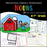 Elementary NOUN Worksheets
