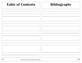 Elementary Nonfiction Writing Blank Book